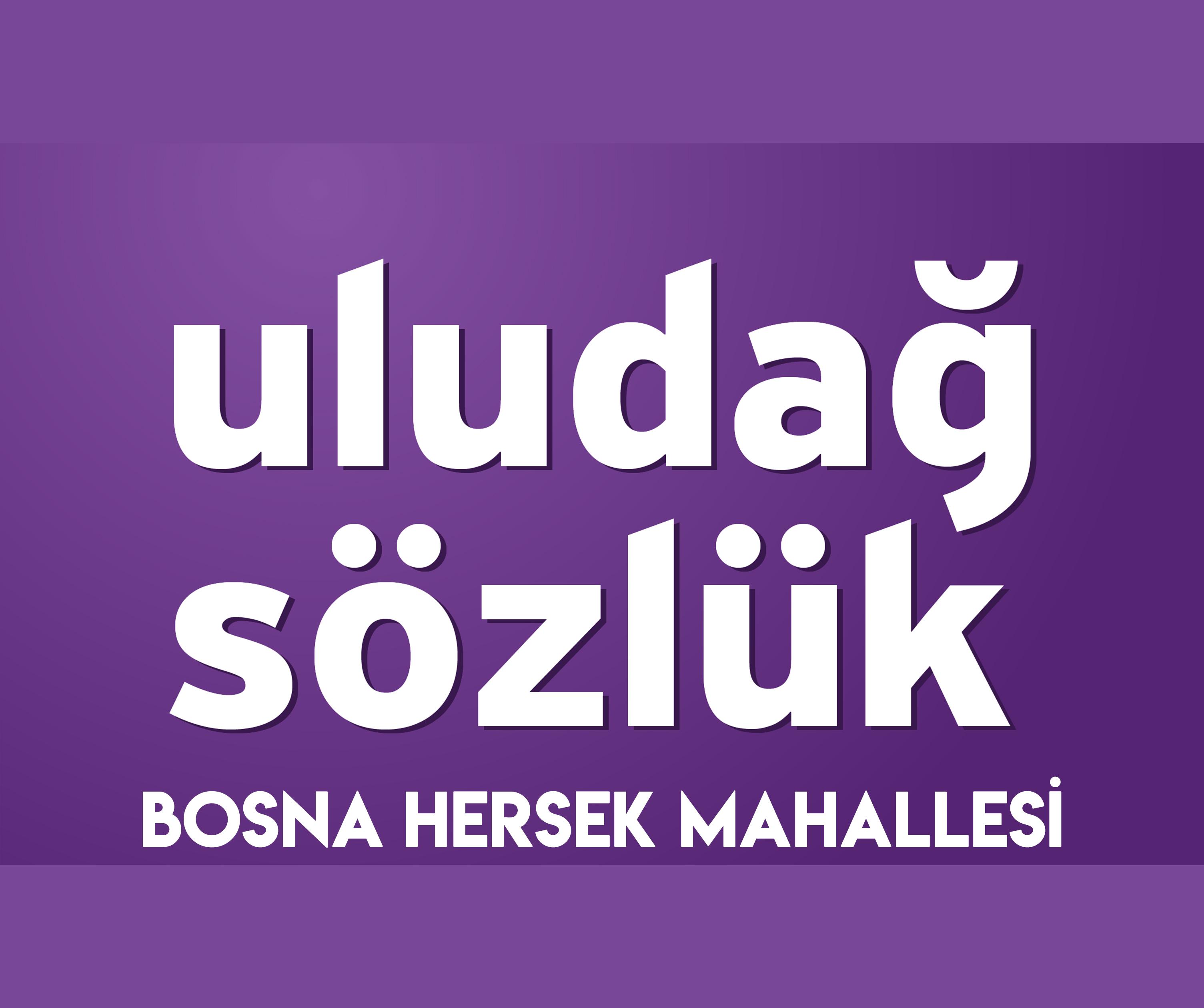 Bosna Hersek Mahallesi Uludağ Sözlükte