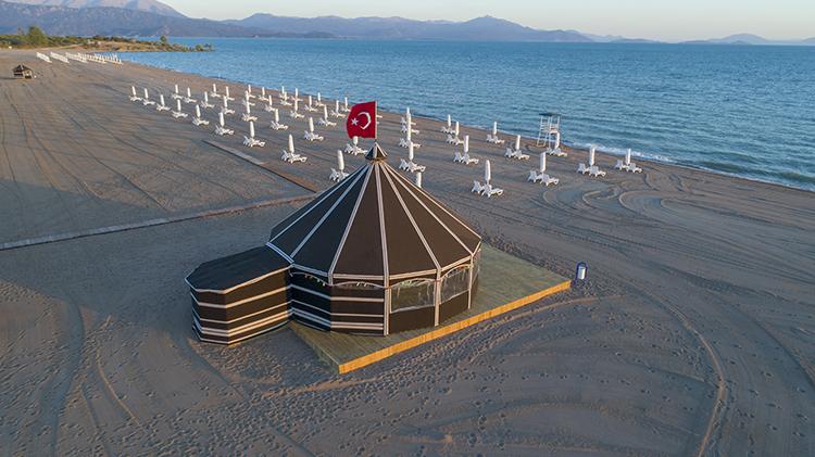 Konya Karaburun Plajı Konya'daki Deniz