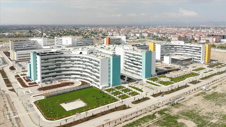 Konya Şehir Hastanesi bugün açılıyor!
