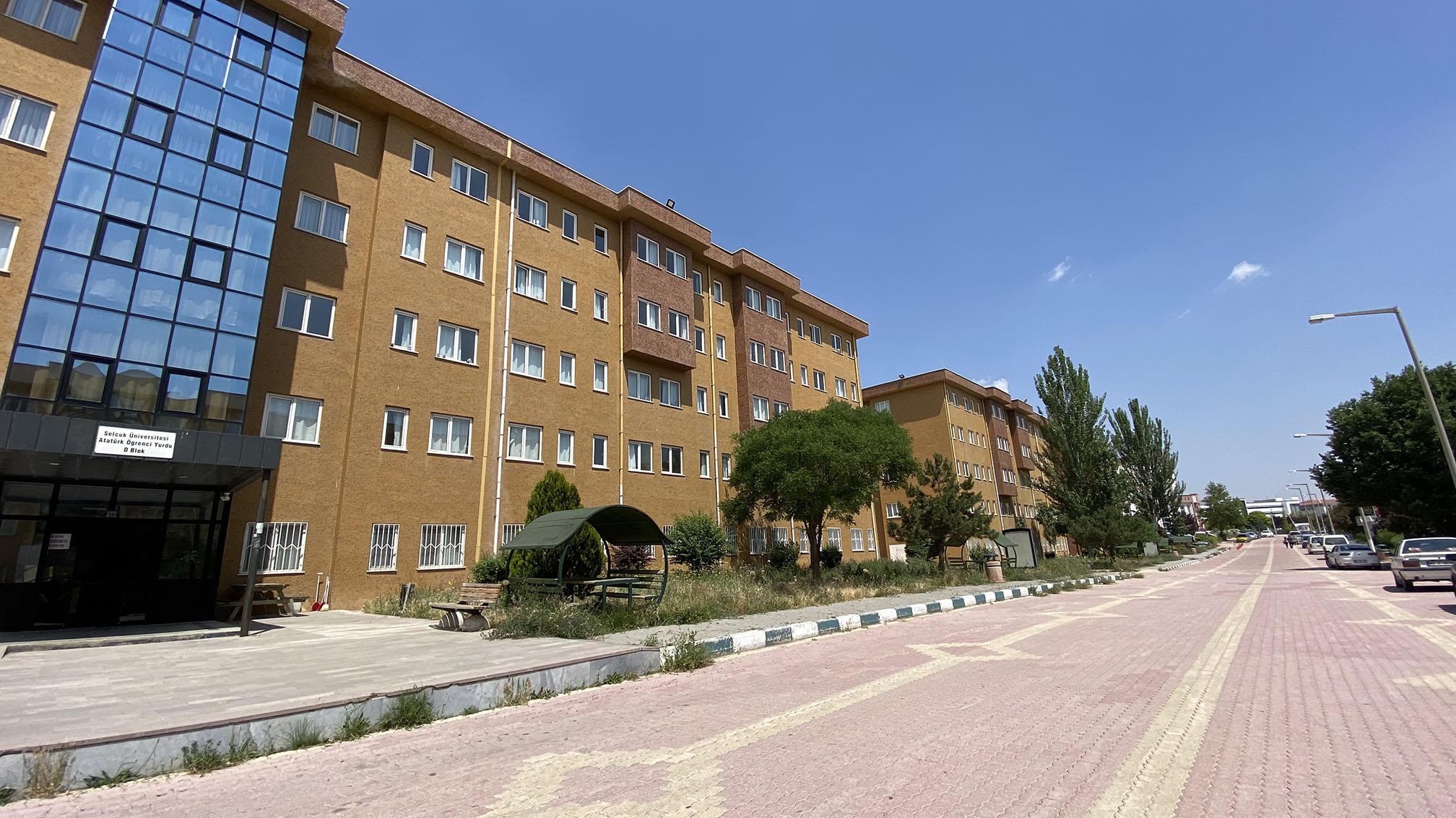Selçuk Üniversitesi Atatürk Öğrenci Yurtları Ücretleri 2021-2022